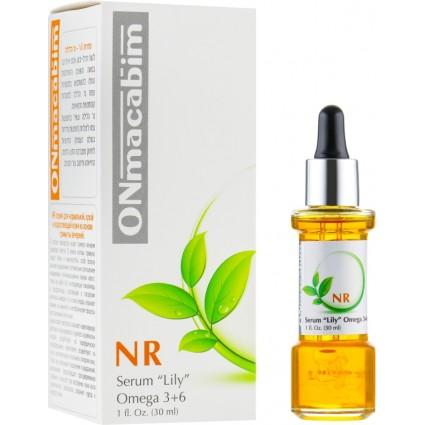 Концентрированная питательная сыворотка (Лили) Onmacabim NR Serum Lily Omega 3+6 30 мл